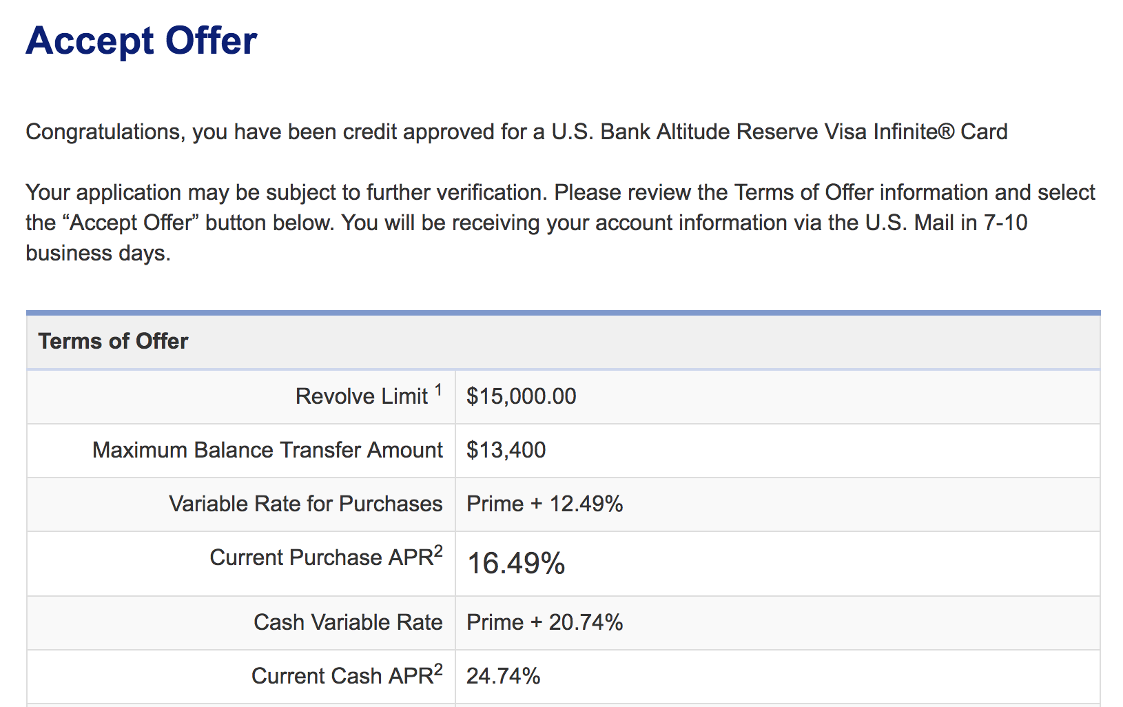 Apply Now! the U.S. Bank Altitude Reserve Visa Infinite® Card ...